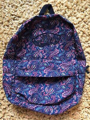 VANS Backpack Paisley Print