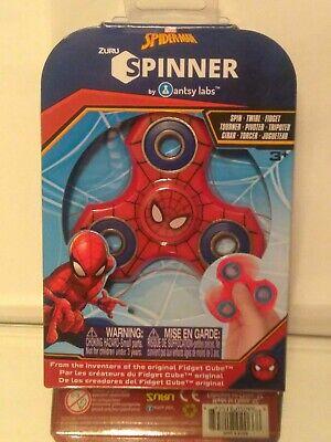 MARVEL SPIDER-MAN ZURU FIDGET SPINNER BY ANTSY LABS BRAND NEW