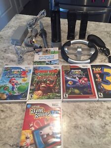 Nintendo Wii With Great Games