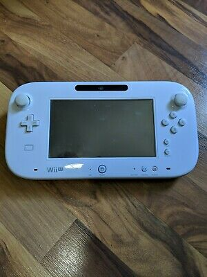 Nintendo WII U White replacement tablet Nintendo Gamepad WUP-010 Tested read