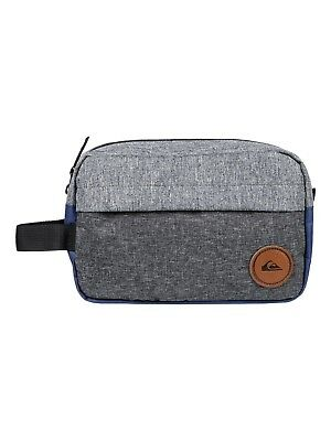 QUIKSILVER MENS TOILETRY BAG.CHAMBER WASH TRAVEL SHAVER ZIP UP BAG 8W 149 BTEH