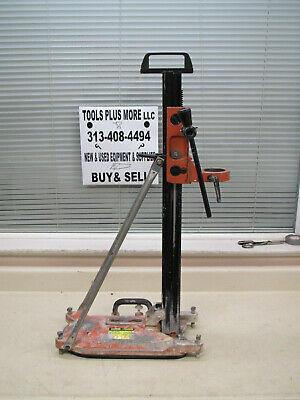 Weka Core Bore M4 Concrete Coring Core Drill Stand Used Free Shipping