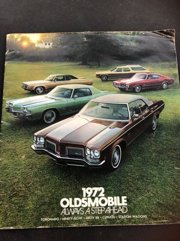 1972 Oldsmobile Full Line Sales Brochure