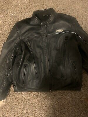 Harley Davidson XL Armor Leather Jacket 3-in-1 FXRG