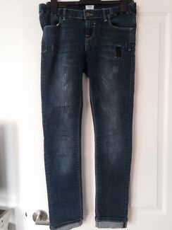 Maternity skinny jeans size 8 Sandringham Bayside Area Preview