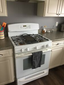 Gas Stove and Hood Vent
