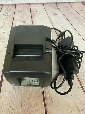 Star Tsp650ii Thermal Pos Receipt Printer Ethernet Interface Square Open Box