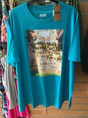 JACAMO  t-shirt   2XL   LONG  bnip  BIG&TALL