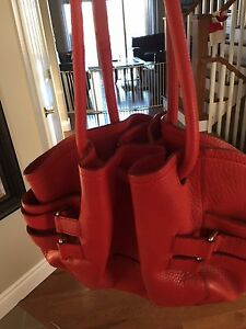 Great condition large leather Coral colour Cole Haan Purse
