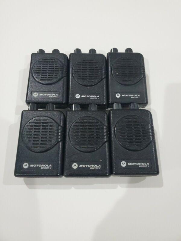 Motorola Minitor V Pager(s) UHF 450 - 457.9875 MHz Minitor 5 1-Channel No SV