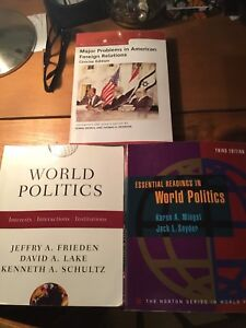 Political science textbooks