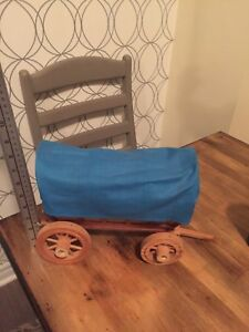 Wooden wagon lamp without electrical unit