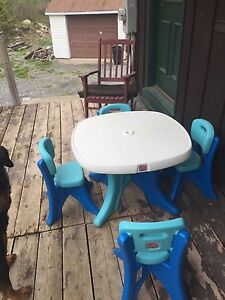 Step 2 table and chairs
