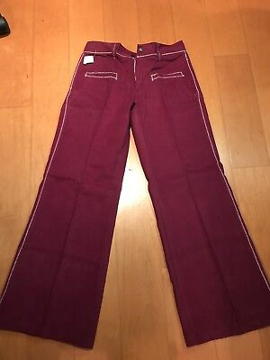 70's Vintage Collectors Velvet Pants  29 & 30 Pants! Spigal Brand New With Tags
