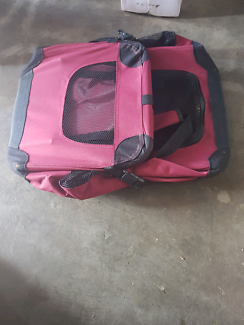 Small pet travel fold up cage