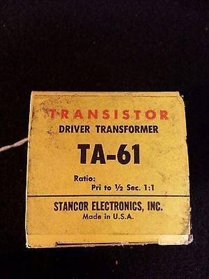 Stancor Ta-61 Driver Transformer Transistor Vintage Stancor Electronics