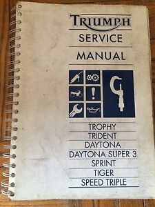 1991 on Triumph Service Manual