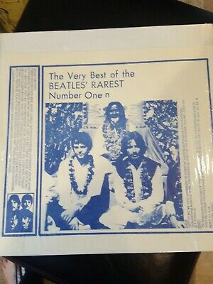 The Very Best of The Beatles Rarest Number One