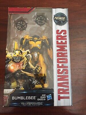 Hasbro Transformers MV5 The Last Knight Deluxe class Old Bumblebee Action Figure
