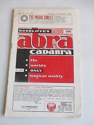 1966 GOODLIFFES GOODLIFFE ABRACADABRA ABRA CADABRA WEEKLY MAGAZINE