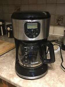 Black & Decker Stainless coffee maker - 12 cups