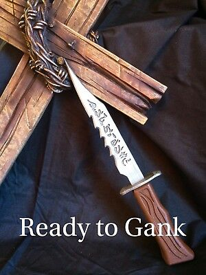 Supernatural Demon Blade Prop Replica Dean and Sam Winchester Knife Sword Evil