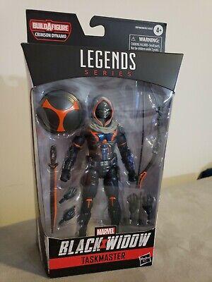 Black Widow Marvel Legends 6-Inch Taskmaster Action Figure BY HASBRO - IN HAND