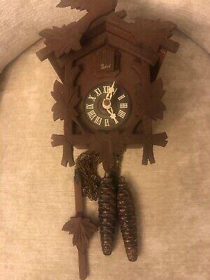 Vintage budof cuckoo clock. German made