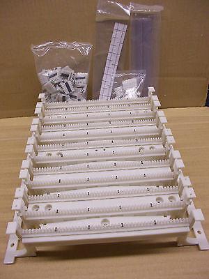 Avaya 110AC2-300FT 110 Type 300 Pair Wiring Block kit with 3 pair clips, NOS 110 Type Wiring Block