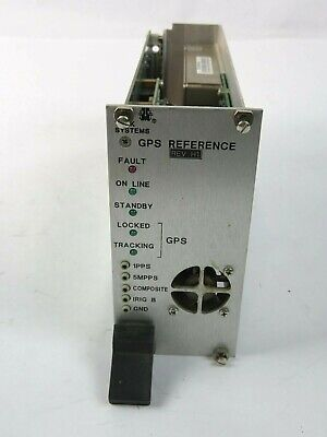 Trak Microwave 9101-3 Gps Reference Module W Rubidium Oscillator For Model 9100