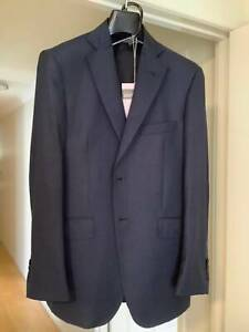 Handmade Hand Stitched High Quality Italian Business Suits   #2 Dark B Cleveland Redland Area Preview
