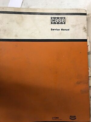 Case Sevice Manual 1700 Uni-loader