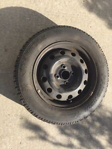 """14"""" winter tires with steel rims"""