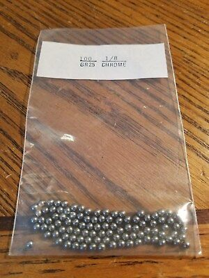 18 Chrome Ball Bearings 100 Pcs Grade Gr 25 New Buy From Usa