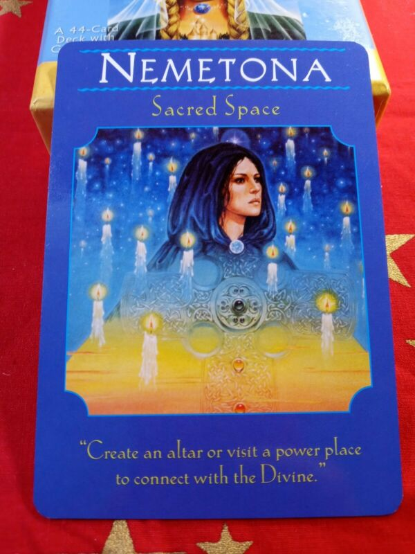 Nemetona - Single Card Replacement - Authentic Goddess Guidance Doreen Virtue