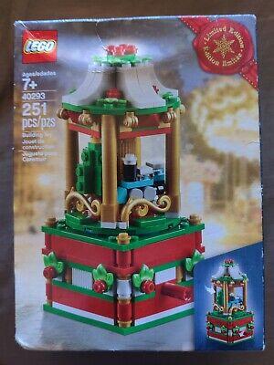 LEGO 40293 Christmas Carousel - NEW - SEALED -Train