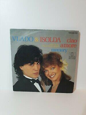 "EUROVISION 1984 YUGOSLAVIA VLADO & ISOLDA CIAO AMORE 7"" SINGLE ENGLISH VERSION"