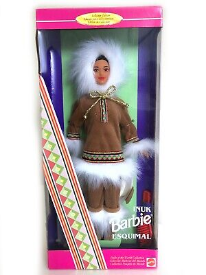 Barbie Arctic/Inuk Collector Dolls of the World 1996 (Canadian Version) RARE