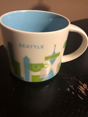 Starbucks Coffee Mug You Are Here Collection Seattle