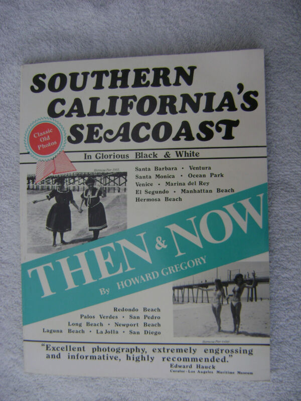 SOUTHERN CALIFORNIAS SEACOAST BOOK MARITIME NAUTICAL MARINE (#027)