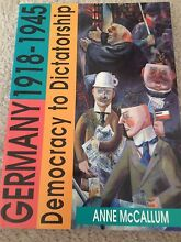 Germany******1945; democracy to dictatorship Winthrop Melville Area Preview