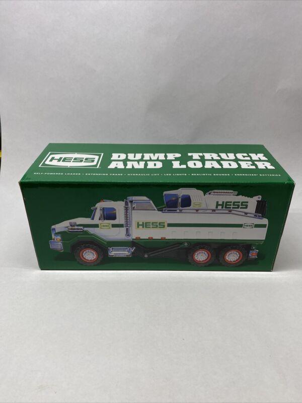 2017 HESS DUMP TRUCK & LOADER NIB- Free Shipping