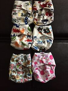 Soft Alva pocket diapers