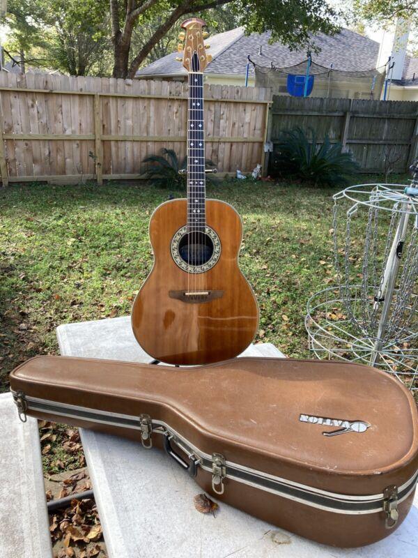 Vintage 1978 Ovation 1617 Acoustic/electric w/Case