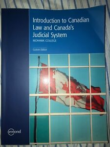 Introduction to Canadian Law and Canada's Judicial System