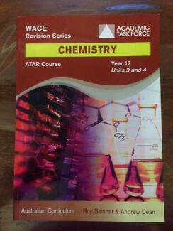 Academic Task Force ATAR Course Chemistry Year 12 Units 3 & 4