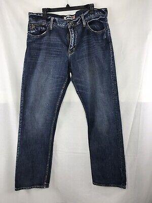 "Quicksilver QuickJean Men's Size 36"" Waist Regular Denim Jeans 31"" Inseam"