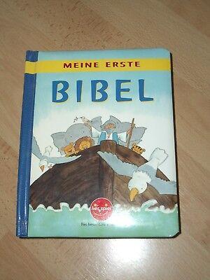 Schöne Kinderbibel mit festen Seiten Meine erste Bibel von lies und spiel  (Bibel-spiel Kinder)