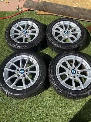 BMW 1 SERIES F20 F21 SET OF 4 ALLOY WHEELS 16'' WITH TYRES 205/55/16 6796202