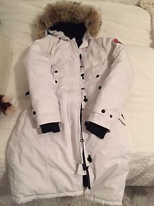 Authentic White Canada Goose parka